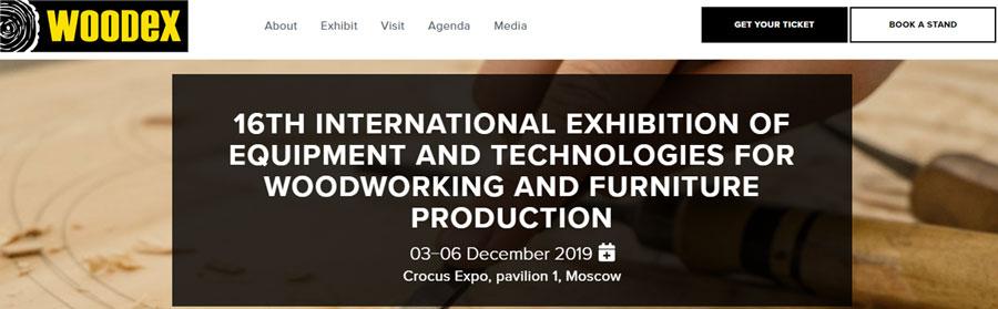华凯工具参加2019年俄罗斯木工机械展