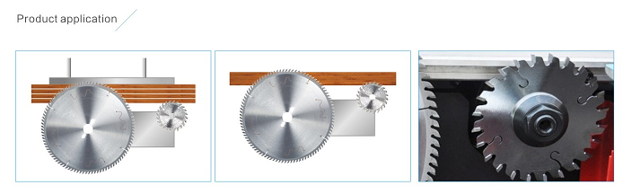 Adjustable Scoring Saw Blades